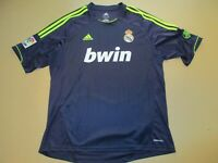 2012 Real Madrid Adidas 110 Anos Years Soccer Jersey Shirt Adult XL