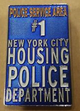 Nypd Challenge Coin Police Service Area 1 NYCHA TRESPASS SIGN PSA1