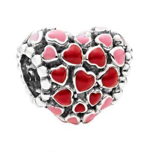 European s925 siver charms dangle pendant beads Fit silver bracelet bangle chain