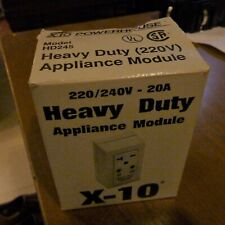 X10 Hd245 Heavy-Duty White 20 Amp Plug-In Appliance Module