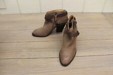 Dolce Vita Light Brown Booties with Straps, Women's Size 8
