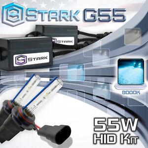 Stark 55W Micro HID High Beam Slim Xenon Kit - 9005 HB3 8K 8000K Ice Blue (V)