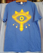 Gamer #16 T-shirt, Nerd Block, Legend of Zelda, The Eye of Truth, Cotton, Large