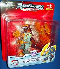TRANSFORMERS Universe Terrorcon Doom-Lock robots in disguise NIB