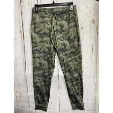 American Eagle Outfitters Women S Camouflage Pants Drawstring Pockets Green