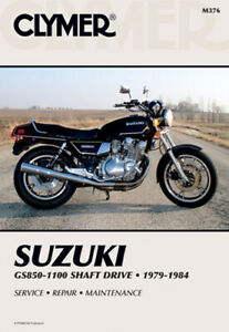 Clymer 1979-1984 Suzuki GS850-1100 Shaft Drive Maintenance Service Repair Manual