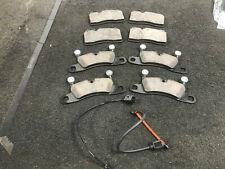 PORSCHE CAYENNE VW TOUAREG Q7 BRAKE PAD FRONT REAR BRAKE PADS * SENSORS brembo