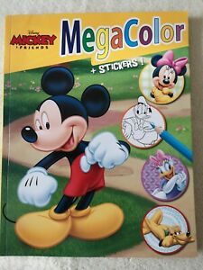 Walt Disney - Mickey & Friends Malbuch (mit über 120 Bildern + 25 Sticker)
