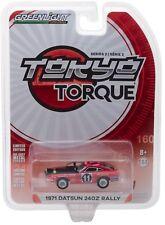 1:64 GreenLight *TOKYO TORQUE JAPAN 2* 1971 Datsun 240Z Rally Racer #11 *NIP*