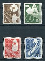 Bund 167 - 170 sauber postfrisch Verkehrsausstellung BRD 1953 Michel 85,00 € MNH