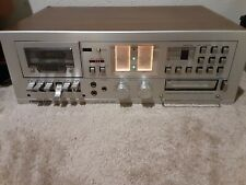 Soundesign Tx 0868 Stereo Cassette/8-Track Record Deck Works! Please read.