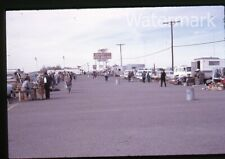 Vintage 1966 photo slide car Apache Junction AZ flea market  dog racing