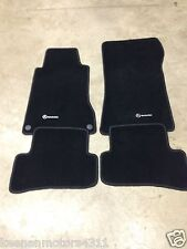 Genuine OEM Mercedes Benz C Class W203 S203 Anthracite Carpeted Floor Mats 02-07