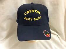 trucker hat baseball cap Crystal Beet Seed nice cool retro vintage quality rave