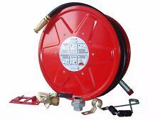 2 X Fire Hose Reel 36 Meter 19mm ID Hose Fire Fighting Fire Trailer