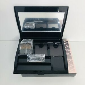 Mary Kay Compact Pro Magnetic Black Unfilled 018587 Mirror Brow Tools and Brush