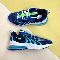 Nike Air Max 270 React ENG Mens Trainers Blue UK 8.5 EUR 43 US 9.5 CJ0579 400