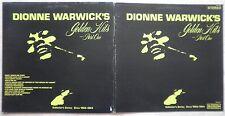 DIONNE WARWICK'S Golden Hits Part One (Vinyle 33t / LP) 1978 - Pressage US