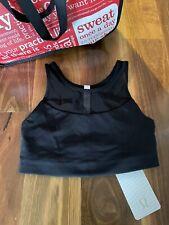 Lululemon Gear Up Bra Blk Size CAN/USA 6 AUS 10 Brand New