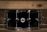 "DW 14"" x 6.5"" Black Nickel Over Brass With Chrome Hardware Snare Drum, B-Stock O"