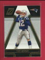 Tom Brady 2005 Donruss Zenith Card # 57 New England Patriots Football