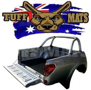 Tuff Mats Mitsubishi ML MN Triton Dual Cab Rubber Ute Mat No Tub Liner