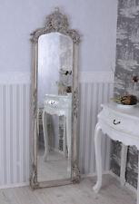 Miroir de Hall Rokoko Miroir Shabby Chic Miroir Mural Rocailles Baroque Cristal