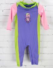 Coolibar Rash Guard Romper One Piece Swimsuit Sun Protection Baby 12-18M UPF 50