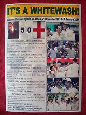 Australia 2013/14 Ashes winners - souvenir print