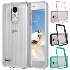 For LG Aristo 2, Zone 4 Case Hard Back TPU Bumper Hybrid Shockproof Phone Cover