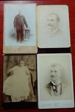 Cabinet card lot - (4) New Hampshire - Tilton, Laconia, Lakeport & Goffstown