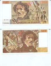 Gertbrolen 100 FRANCS EUGENE  DELACROIX de 1984   D.75 Billet N° 1853726986