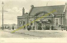 Seven Kings Railway Station Photo. Ilford - Goodmayes. Stratford to Romford. (1)