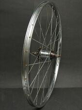 Vtg Schurmann Super 24 x 1 3/8 28 Hole Rear Bicycle Wheel w/ Shimano 333 Hub F