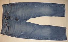 "BULL HEAD BLUE ZIPPER FRONT DENIM JEANS    INSEAM 28""    SIZE 34        K#8388"
