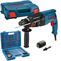 Bosch GBH 2-26 SDS+ Rotary Hammer Drill 240V in Case With 17Pc Acc. Set & Chuck