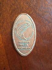 "Bass Pro Shop Auburn Hills MI pressed elongated penny ""Free Shipping""A304"