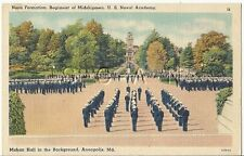 Org Vintage 1930s-45 PC- Sailor- Cadet- Naval Academy- Annapolis MD- Formation