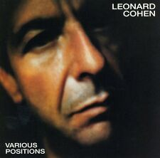 Various Positions - Leonard Cohen (1995, CD NUOVO)