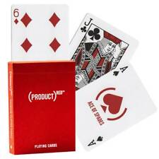 PRODUCT RED THEORY 11 PLAYING CARDS DECK MAGIC TRICKS SEALED MADE IN USA NEW