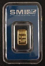 Sunshine Minting Inc. 1 Gram Gold Bar - (9999 Bullion Gold) QMS Certified by DNV