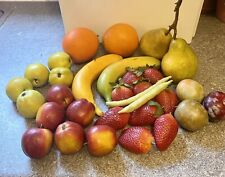 Artificial Fruit Plastic Fake Variety Food Home Kitchen Display 30 Piece