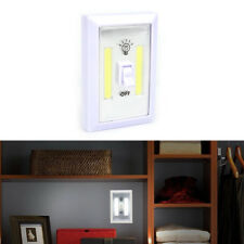 COB LED Lamp Switch Wall Night Battery Operated Closet Emergency Light QL