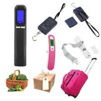 40KG/50kg Electronic Portable LCD Digital Weight Scale Hook Hanging Luggage Home