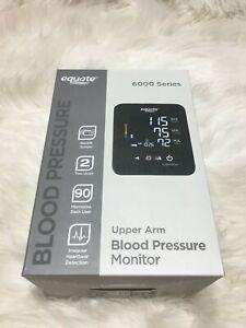 Equate Upper Arm Blood Pressure Monitor 6000 Series TDW17