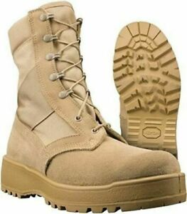 Rocky 789  US Military Issue Army Desert Hot Weather Combat Boots Size- 2.5W