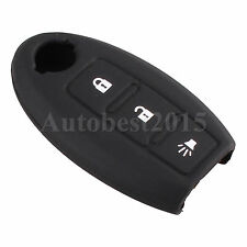 Silicone 3 Buttons Remote Key Fob Case Shell Cover For Nissan Murano 03-11