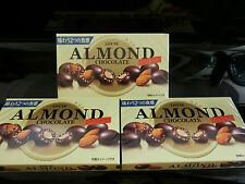 Japan Lotte Almond Chocolate (Crisp) 89g 3 pcs
