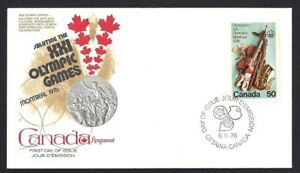 Canada  # 686    Kingswood OLYMPIC ARTS  Cover     New 1976 Unaddressed