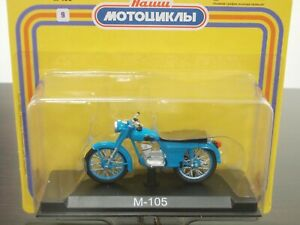 1:24 M-105  'Minsk', 1967-1971, #09 Our Motorcycles, Modimio